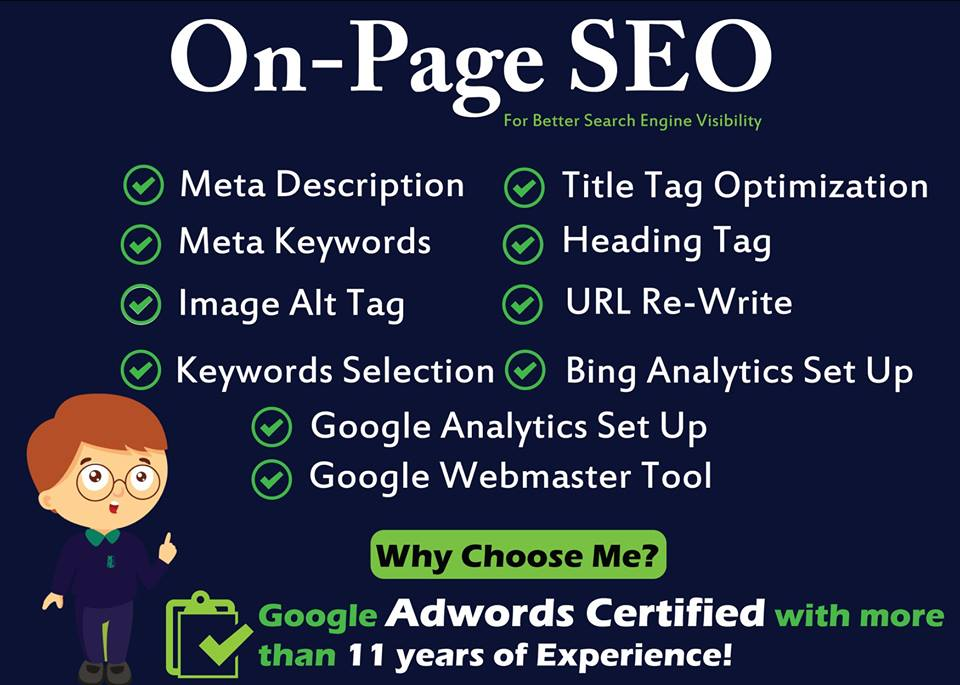 On Page SEO for your Website