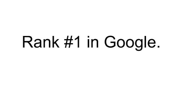 Google Top 3 Guaranteed