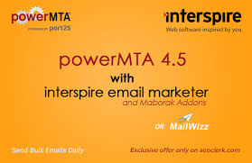 Cheap Bulk Email Services PowerMTA & InterSpire