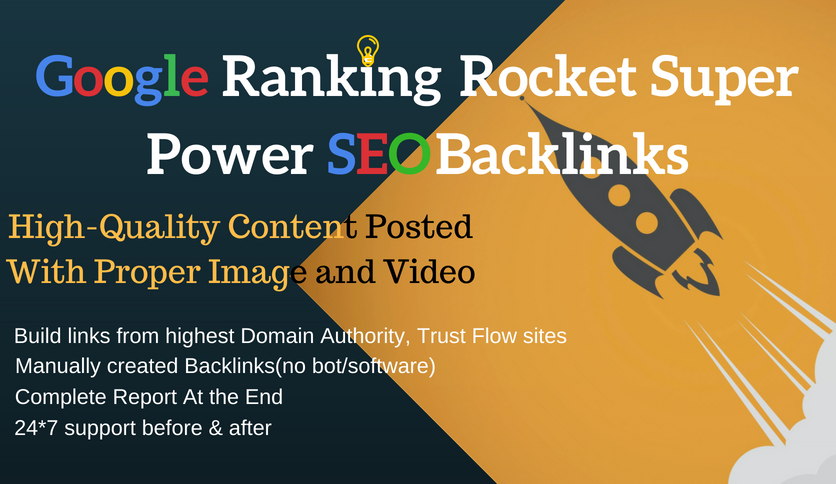 Google Page 1 Ranking Super Power Off-Page SEO Backli...