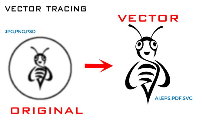 Do Vectorize Logo Vector Tracing