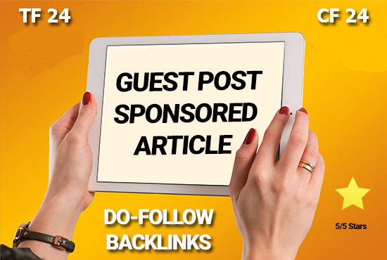 Publish a Guest Post On My Blog TF 24 CF 24