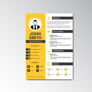 Design Resume, Cv, Cover Letter,  Design Resume