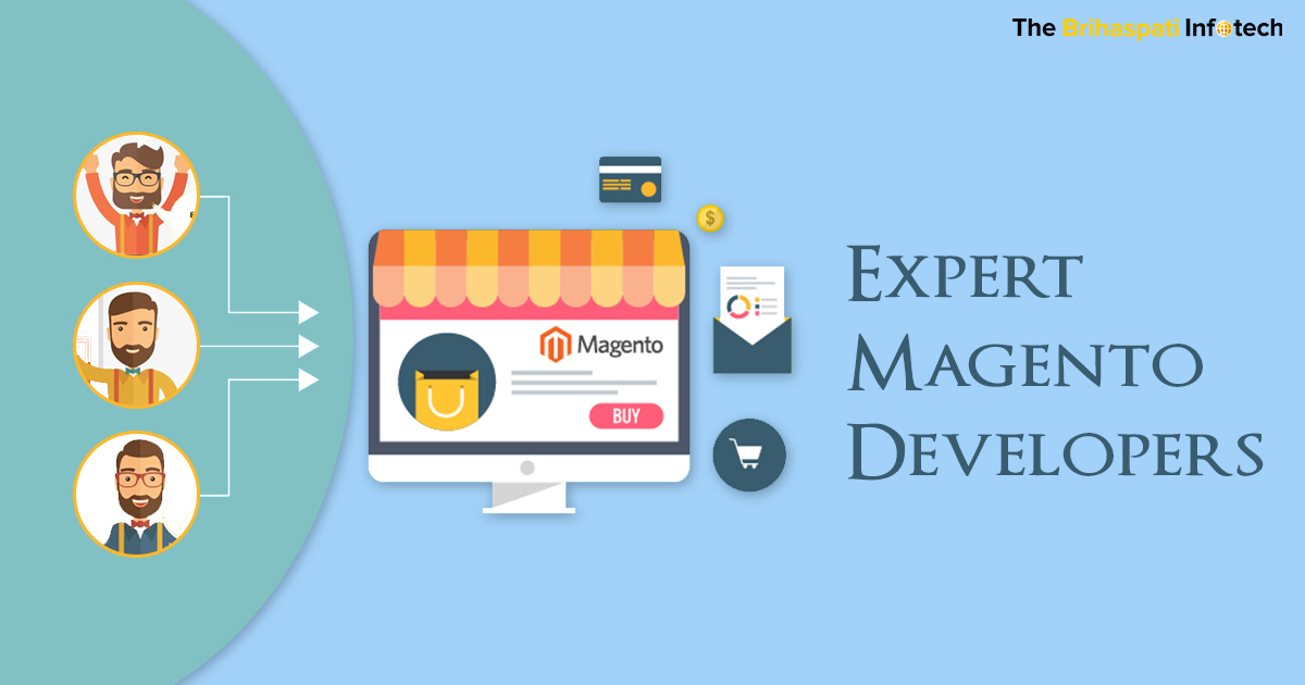 Hire Expert Magento Developers from The Brihaspati Infotech