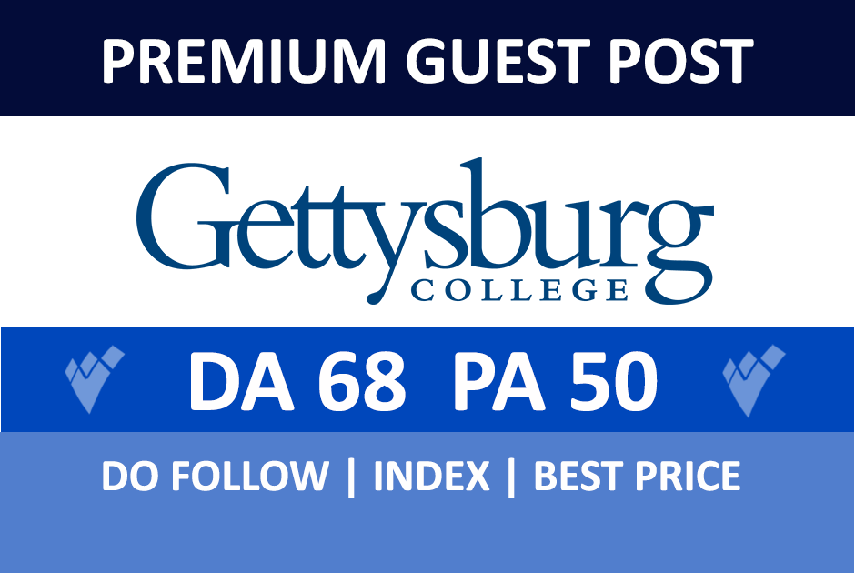 Publish a guest post on Gettysburg - Gettysburg.edu