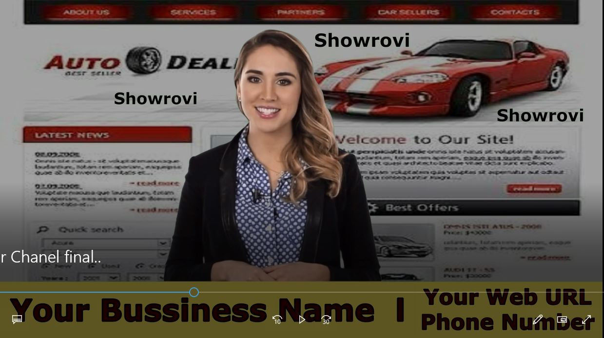 Provide Awesome Auto Dealership Spokesperson promo video