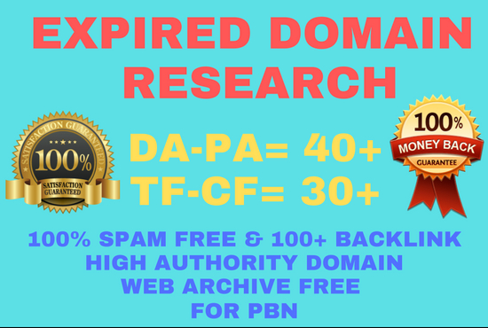 Research 3 Best Expired Domain For Pbn Backlink