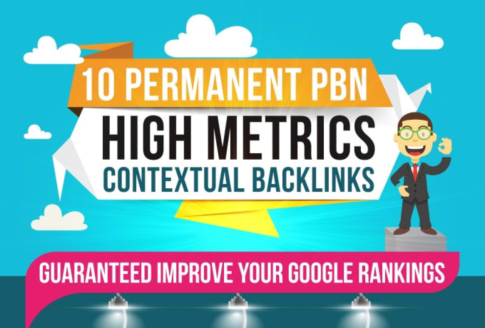 I will do Latest 2019, 10 high PA DA TF CF permanent homepage pbn backlinks