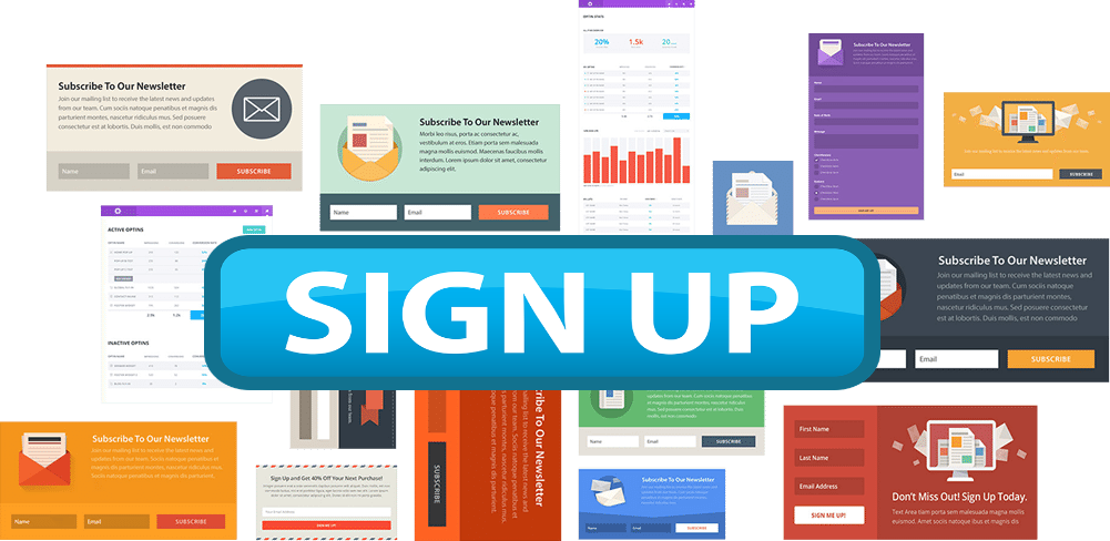 Sing up your websites, social networking sites by minimum cost