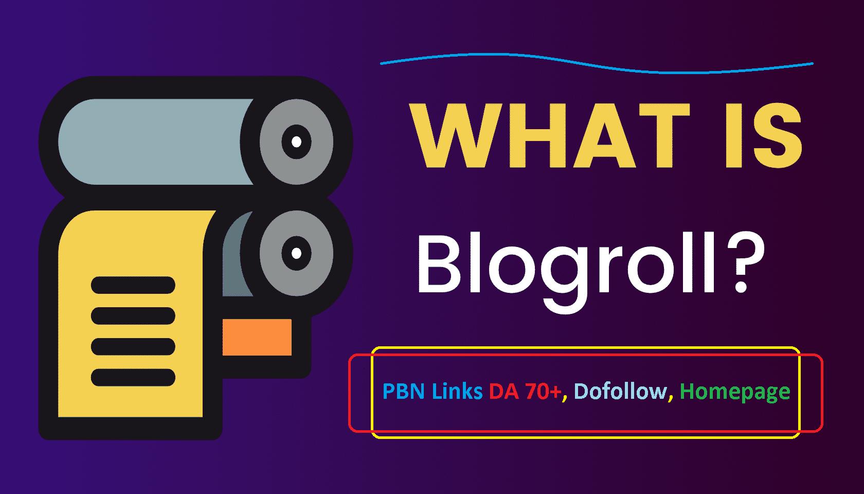 Get 7 PBN Links Blogroll DA 80+ Homepage, Dofollow, Permanent