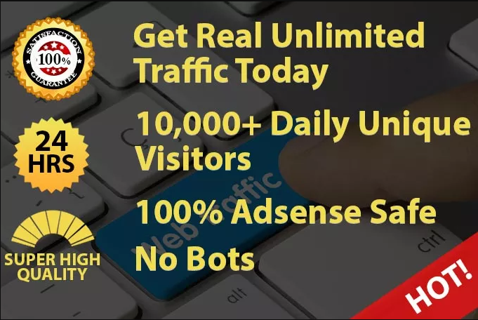 Super High Quality Traffic To Your website Site Or Blog