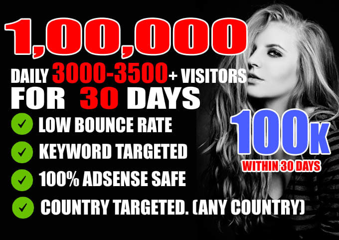 Drive Real Website Country Targeted Low Bounce Rate Traffic