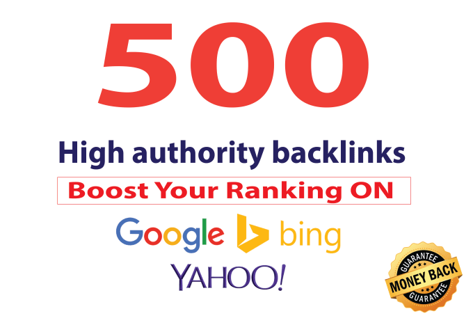 build 500 premium dofollow seo backlinks