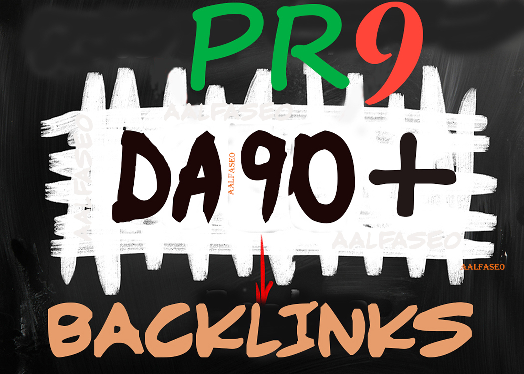 2021 Special 90+DA PR9 HQ Safe SEO Permanent 50 Manually Backlinks Helps to get Google Top Rank