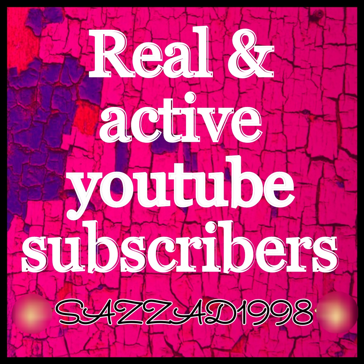 Add 1000+ real & active you'tube channel subscriber very fast only