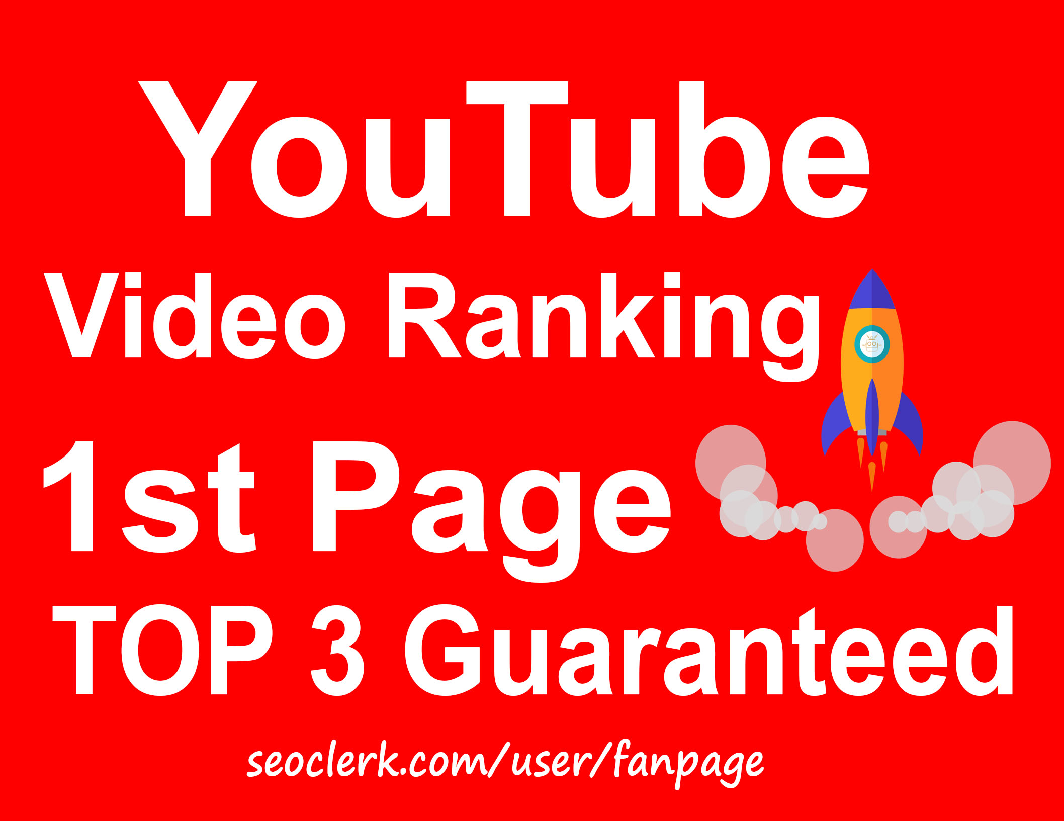 YouTube Video Ranking Top 1 Page Guaranteed - Best Result 2019