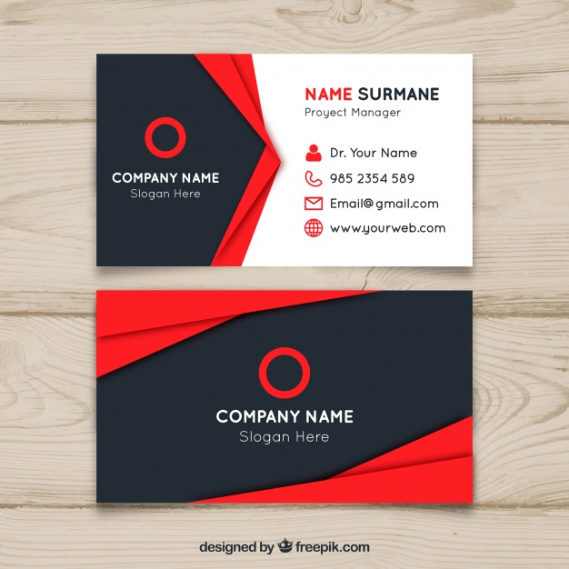 Design professional business card for 5 seoclerks design professional business card reheart Gallery