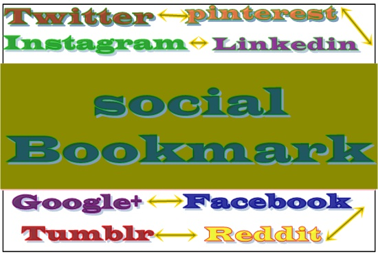 15 Social bookmarks to your website + high quality report