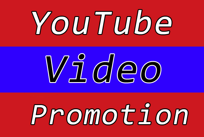YouTube Video Promotion with Improve Seo Raniking Marketing