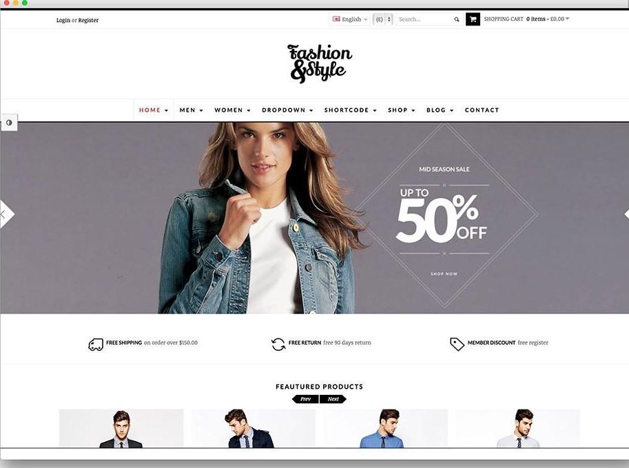 Create Ecommerce Website Using Woocommerce