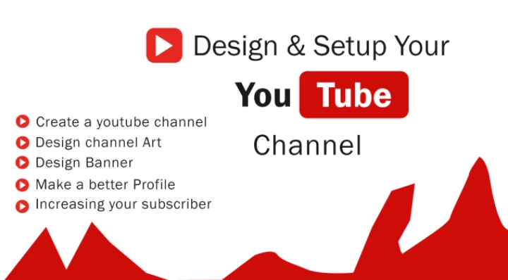 Create,  Setup And Design Youtube Channel