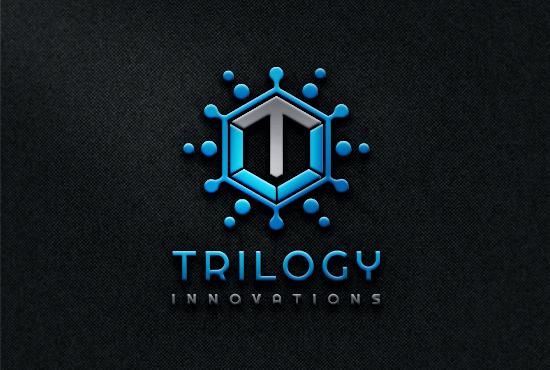 Minimal Modern Technology logo design