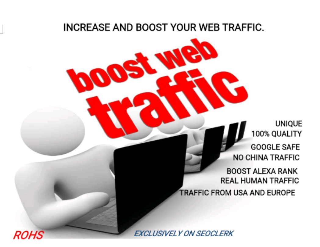 Rank your website to highest with UNLIMITED TRAFFIC from Google, Twitter, Youtube etc for 30 days