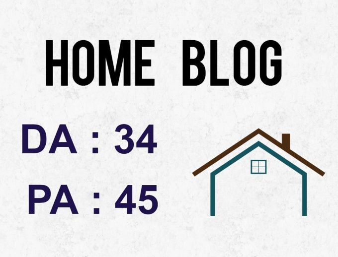 Guest Post On The High Quality Home Improvement Blog for $8 - SEOClerks