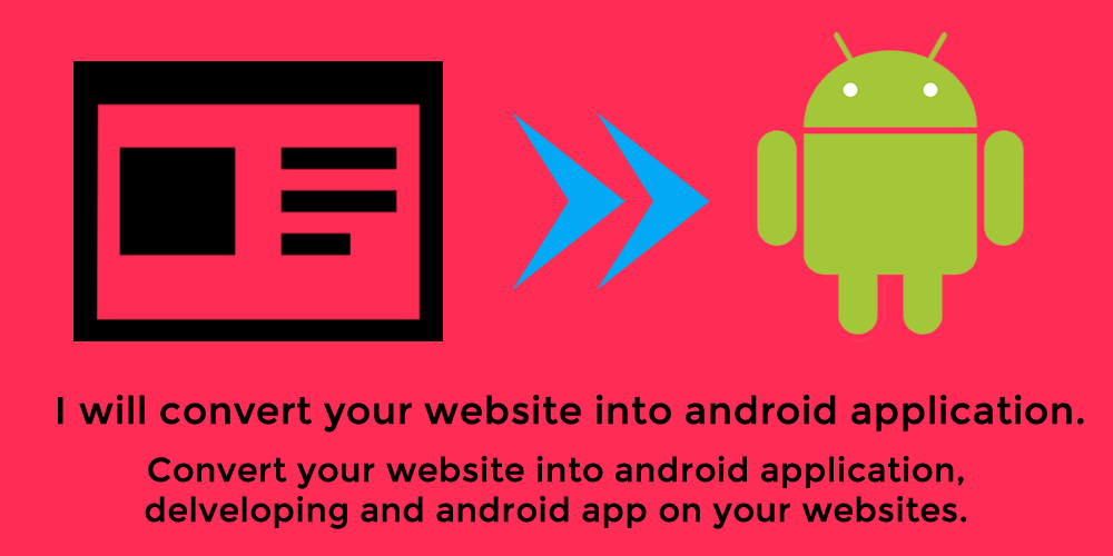 Convert your website into Android Application
