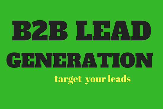 do b2b lead generation