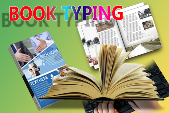 data analysis,  table formatting,  book typing