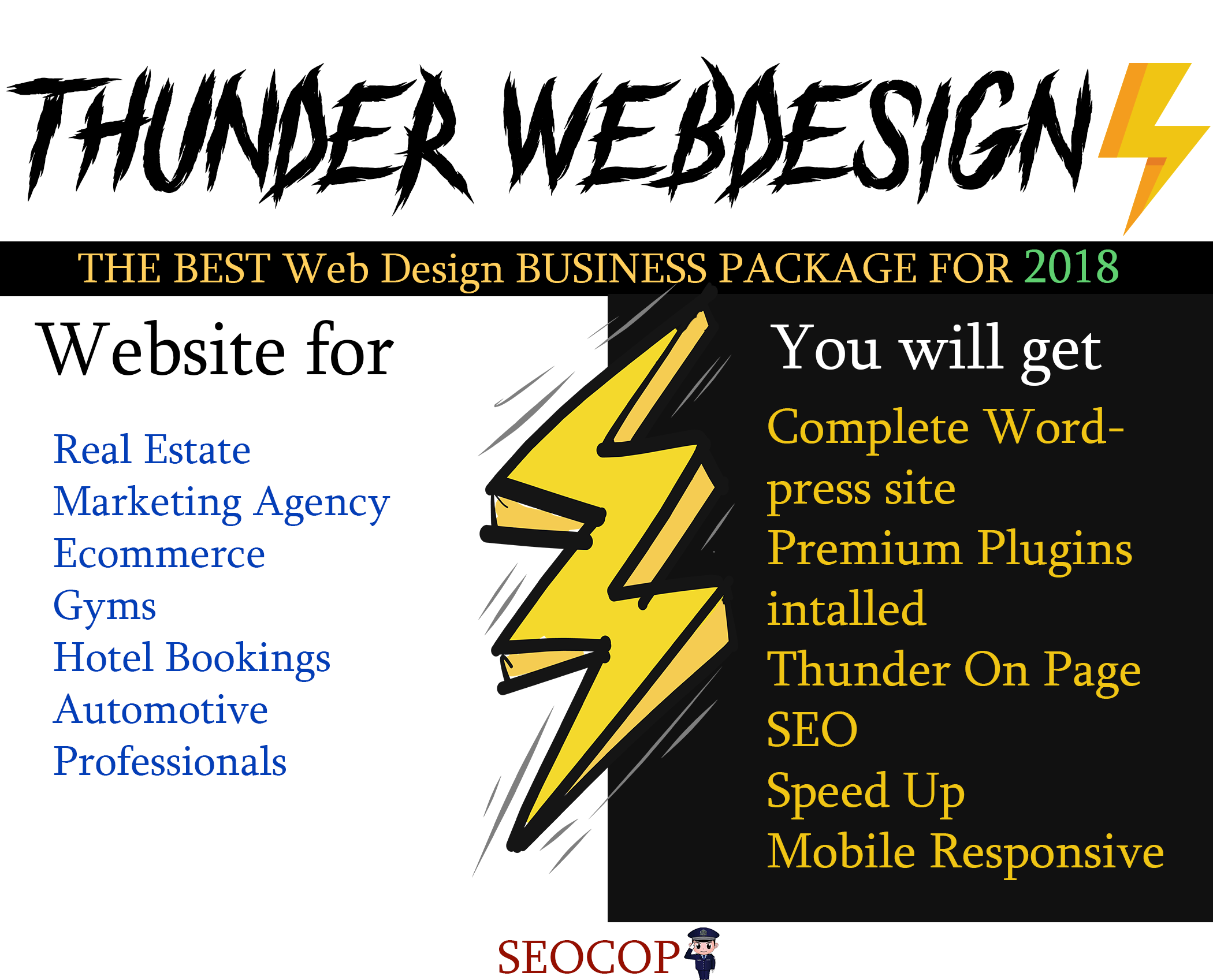 SE Optimized Wordpress Website Including Hosting,  Theme and Onpage SEO