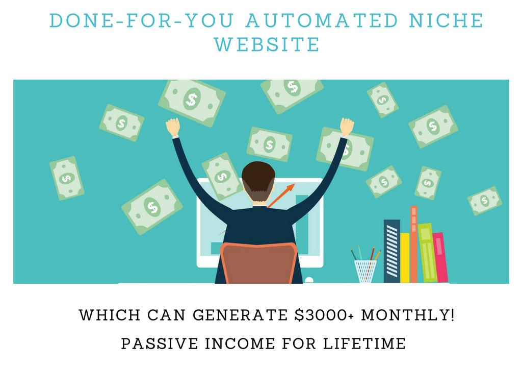 DFY AutoBlog Niche Website + Free Email Autoresponder for $89