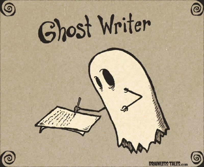 ghostwrite articles or blog posts