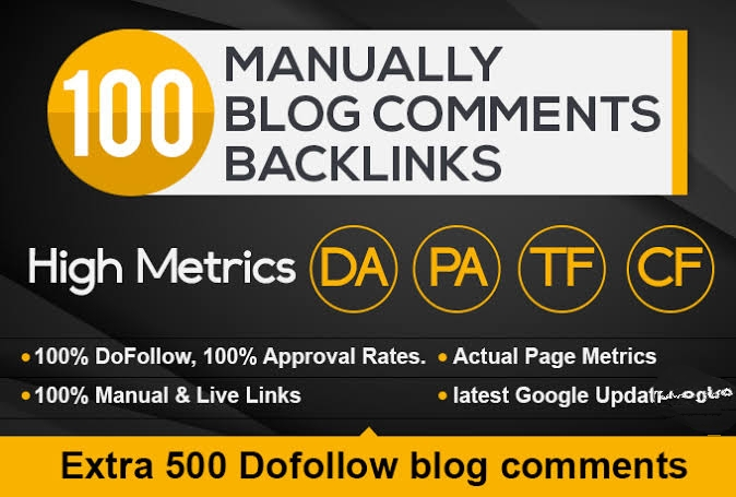 I Will Do Offpage Seo Strategics 100 Dofollow Backlinks Blog Commenting for  $3