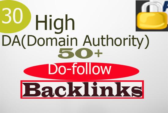 Do High Domain Authority Backlinks Da 50 Plus