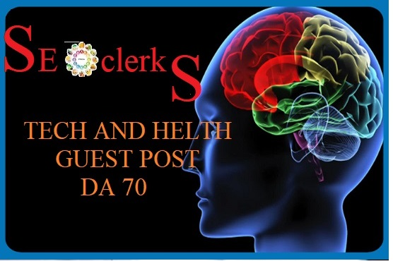 Guest Post On DA70 High Authority TechHealth Site