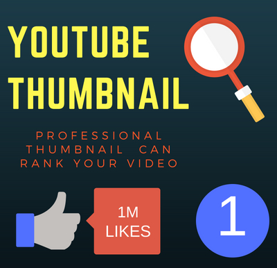 We Will Design 2 Eye Catchy Youtube Thumbnail for your video.