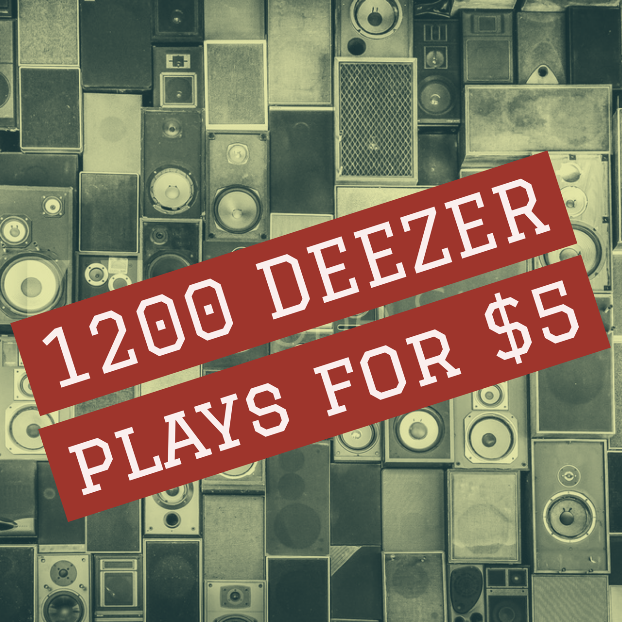 Deezer Music Promotion - 1200 listeners for your songs