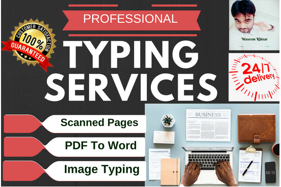 Type Scanned And PDF Pages Fastly