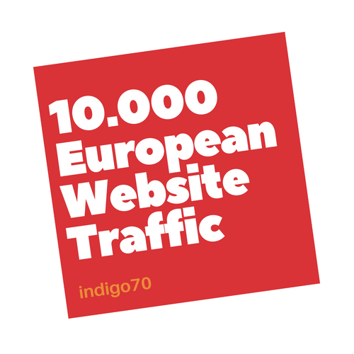 10000 European Website Traffic