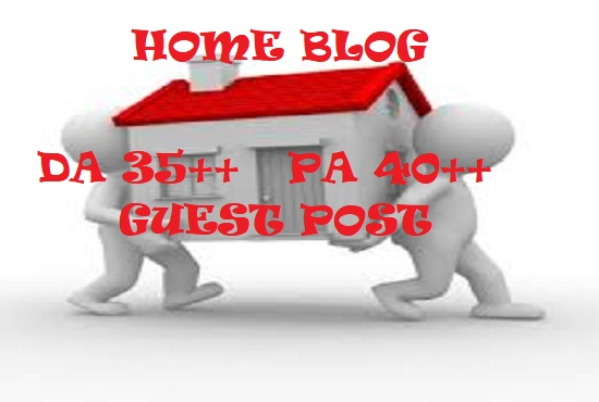 WRITE AND PUBLISH GUEST POST HOME BLOG