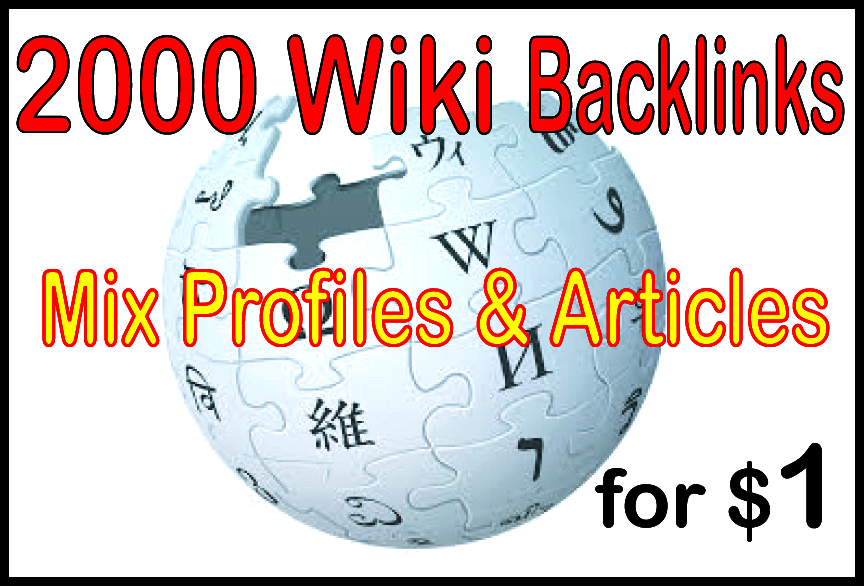 do 3500 Wiki Article Backlink from High Authority Site