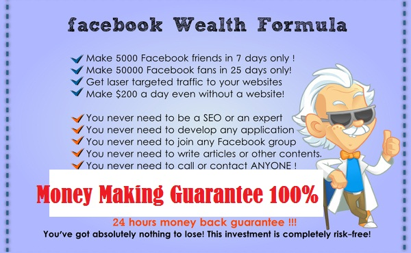 show you step by step how to make MONEY with Facebook Guaranteed method