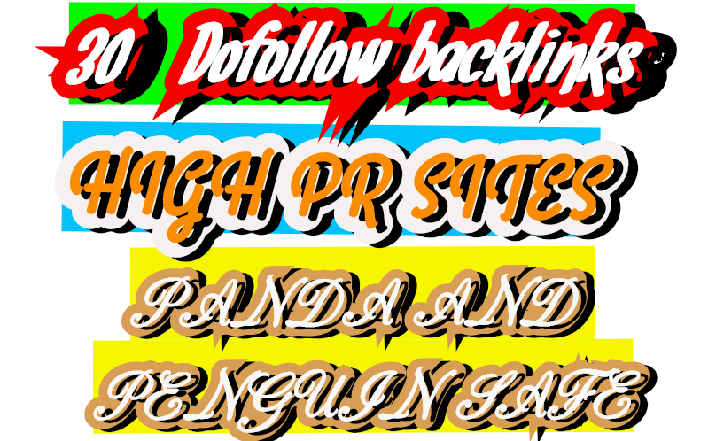 Get 30+Dofollow Backlinks For Your Sites