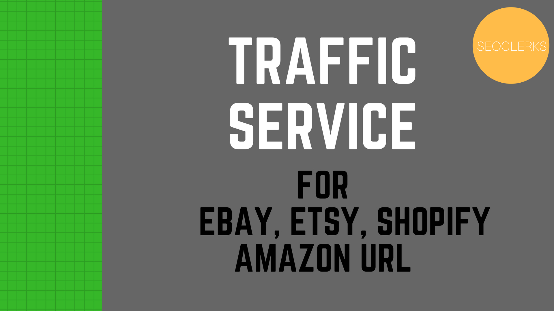 Promote Your Ebay,  Etsy,  Shopify And Amazon Url To Targeted Traffic