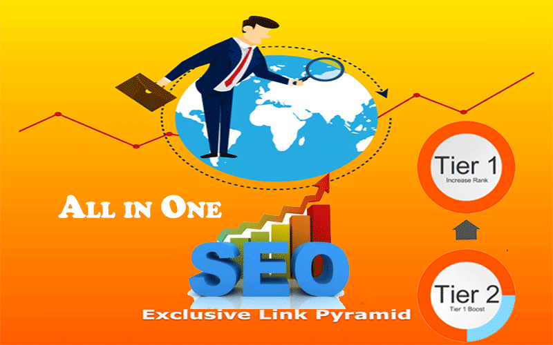 2018 - Guarantee Site Rank Boost With Exclusive Link Pyramid and Premium Indexing