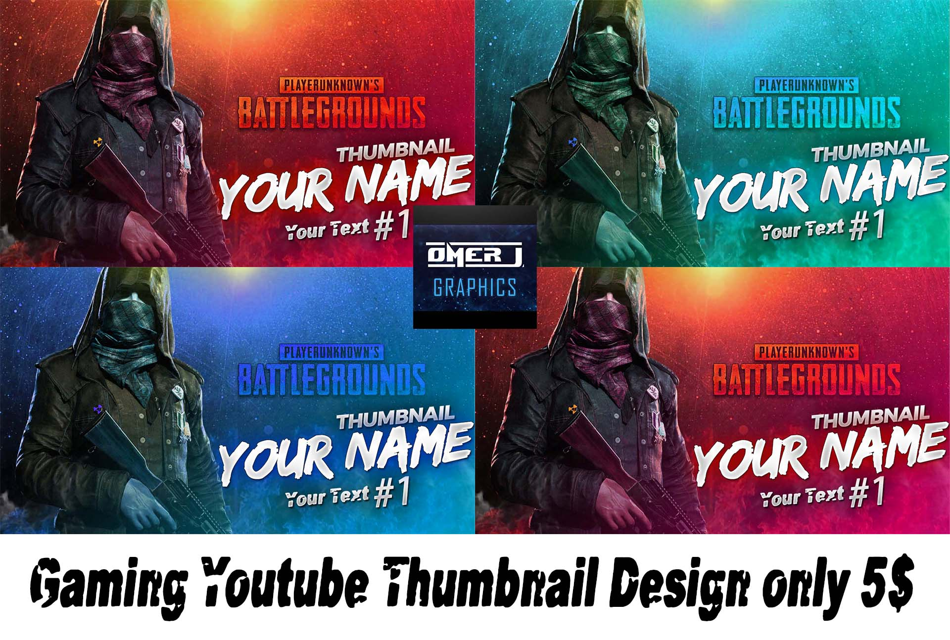 Create A Professional Gaming Youtube Thumbnail