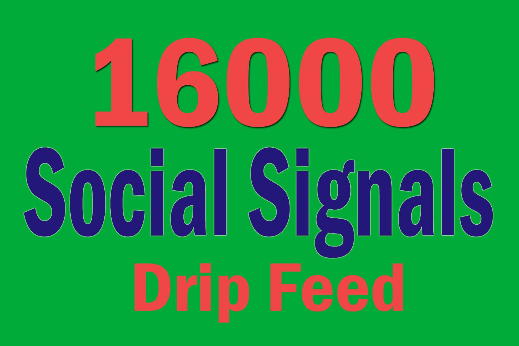 Drip Feed 16000 Website Mixed Permanent Social Signals
