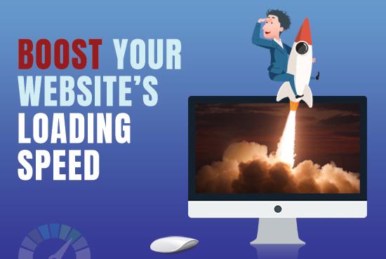 We'll make your website load faster 3-5sec